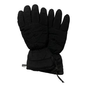 Black Tech Thinsulate Youth Medium Lined Gloves